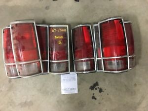 1983-94 Chevrolet/ GMC Blazer / Jimmy S-Series taillamps