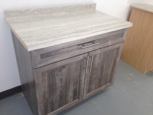 "FOR SALE - Brand new 38"" wide sink vanity w/ polyester doors"