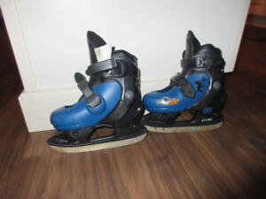 Adjustable Junior Ice Skates