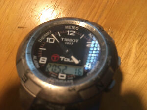 Tissot Touch sports watch used.
