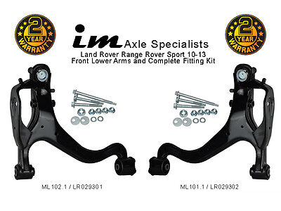Fits Range Rover Sport 10-13 Front Lower Suspension Arms & Fitting Kits