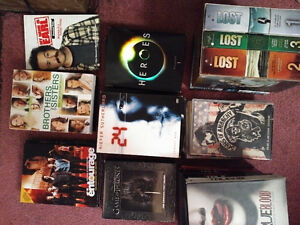 Complete series of LOST DVDs