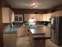 Complete Kitchen Cabinets Counter top & all Appliances