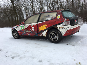 1992 Honda Civic Hatchback ICE RACER
