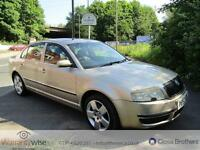 SKODA SUPERB ELEGANCE TDI, Beige, Manual, Diesel, 2003 TIMING BELT DONE AT 106K
