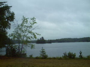 Waterfront Lot ready for your Dream Retirement Home or Cottage