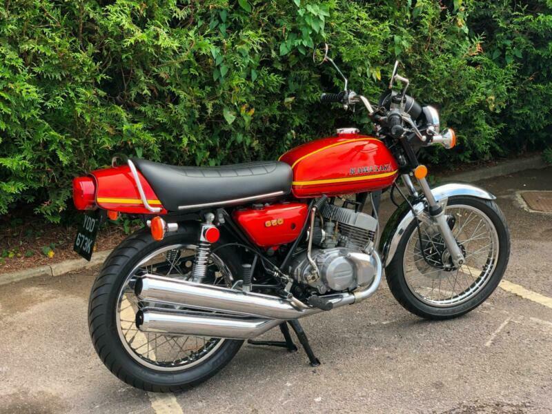 Restored Kawasaki S2 1972 350cc Classic Motorcycle | in Cheltenham,  Gloucestershire | Gumtree