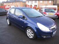Vauxhall Corsa 1.4i 16v ( a/c ) Design 5 Door. Low Insurance. 12 Months MOT