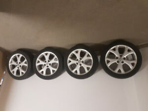 "Alloy Rims 17"" - Mazda 3"