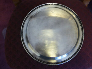 """Silver Plated Platter - 12 1/4"""" diameter - Great condition Kitchener / Waterloo Kitchener Area image 2"""