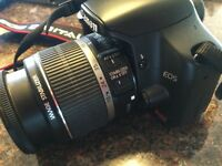 Canon Rebel Xsi SLR camera