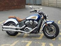 INDIAN SCOUT 1200 ABS 2-TONE BRAND NW 2018 MODEL