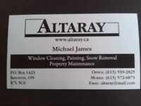 New! Snow Removal Services- Altaray Property Services Ltd.