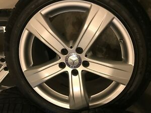Winter tires for Mercedes S class-Condidtion As new London Ontario image 2