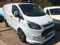 2013 63 Ford Transit Custom 2.2TDCi( 125PS)290 L2H1 / FULL SPORTS PACK /AIR-CON