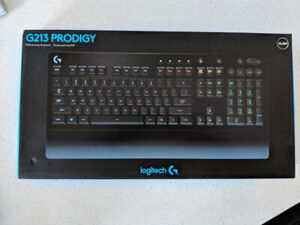 Logitech G213 Prodigy Gaming Keyboard with 16.8m lighting colors