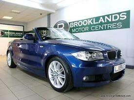 BMW 1 SERIES 118i M SPORT Convertible [3X SERVICES, LEATHER, LOW MILES and HEATE