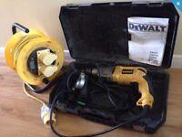 Dewalt Drill & Extension Cable