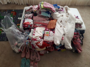 Girl's clothing - newborn to 2.5 years old