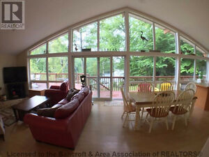 Real Estate in Bancroft Dickey Lake cottage