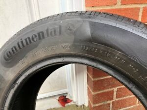 1 Summer Tire Continental P195/65/R15