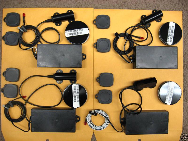 RFID Reader transponder key fob security 4 units