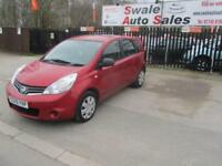 2009 59 NISSAN NOTE 1.4 VISIA 5 DOOR 88 BHP