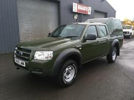 * SOLD * 2010 Ford Ranger 2.5 TDCi Double Cab *Forestry * Wildlife Conversion*