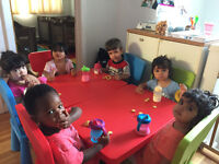 Home daycare 7/75 $ per day in NDG