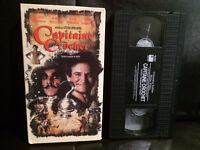 Capitaine Crochet vf. hook robin williams RARE VHS disney