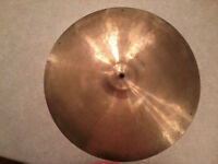 """VINTAGE Old 1950s 18"""" PAISTE STANOPLE Thin CRASH Cymbal"""