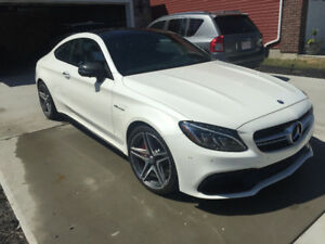 2017 Mercedes C63S AMG Coupe