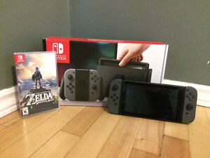 Nintendo Switch including The Legend Zelda: Breath of the Wild