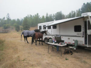 2005 - 4 horse trailer with living quarters
