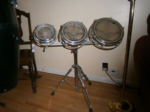 Rototom set with stand (6, 8, 10-inch)