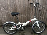 Raleigh active focus folding bicycle serviced ready to ride