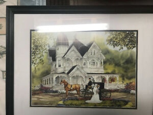 WTS Walter Campbell The Wedding Framed Print
