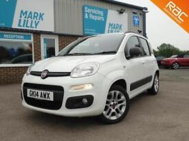 2014 Fiat Panda 1.2 69bhp Lounge WHITE ONLY 34,000 MILES FROM NEW WARRANTY INC