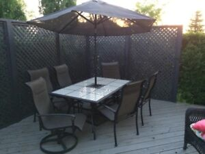 8 Piece Patio Dining Set
