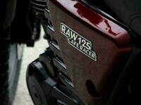 Hanway RAW 125cc Cafe Racer Custom Retro Classic style motorcycle