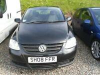 2008 VOLKSWAGEN FOX 1.2 A ONE OWNER FROM NEW VEHICLE.