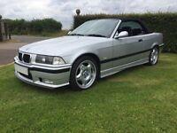 1998 Bmw m3 evo e36 convertible manual silver fsh vgc Px