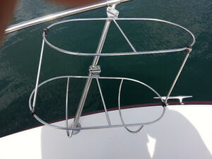 Boat Fender Baskets - Stainless Steel - Two Sets