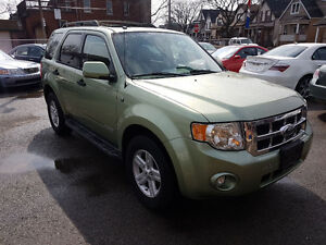 2008 Ford Escape XLT 4x4 Hybrid Electric Vehicle SUV