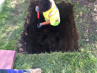 Pro-Hand Digging!!!! Trenches, Post Holes, Footing Excavation