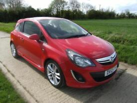 Vauxhall/Opel Corsa 1.4i 16v ( 100ps ) ( a/c ) 2012 SRi With 77k Miles