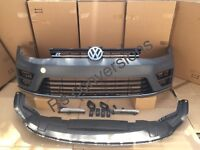 Mk7 Golf r front bumper complete fits Gtd Gti TDI for conversions