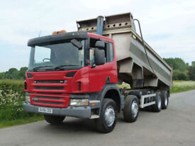 Scania P-380 8 X 4 Thompson Alloy Body Tipper