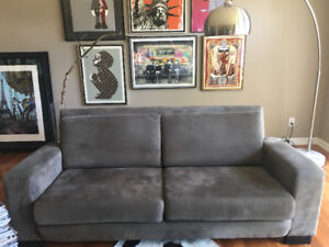 Microfibre Couch