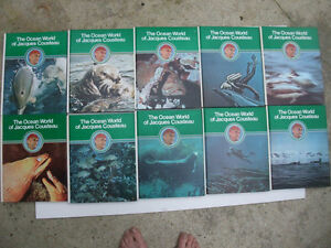 The Ocean World of Jacques Cousteau Complete collection